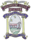 Saxondom Lodge banner